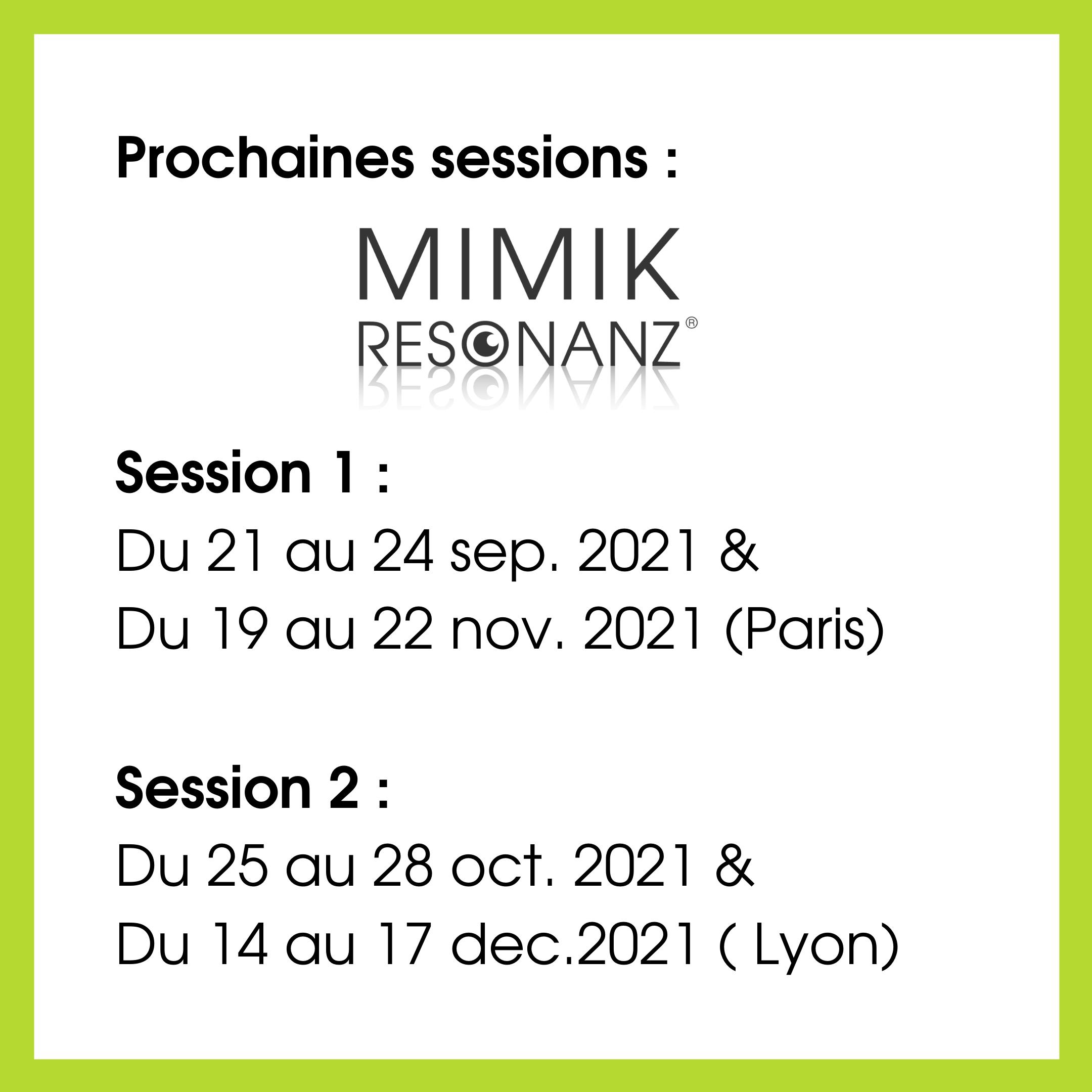 dates formation mimikresonanz